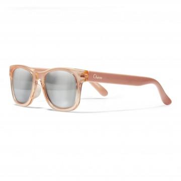 Okuliare slnečné transparentné dievča  lososové 24m+