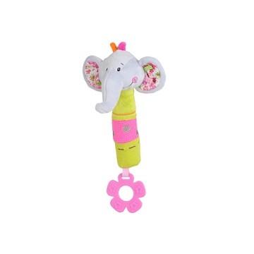 Hračka pískacia s hryzačkou - Slon