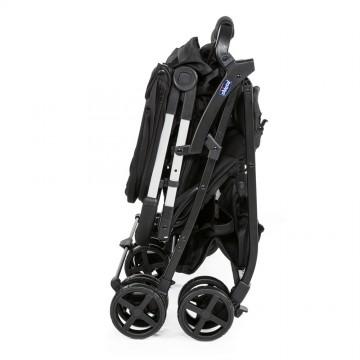 Kočík dvojičkový športový Chicco Ohlala Twin - Black Night