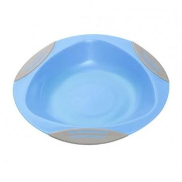 Tanier s protišmykovou prísavkou modrá 6m+