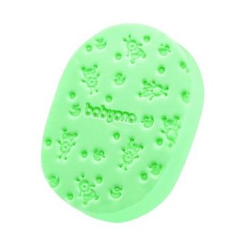 Hubka na umývanie zelená