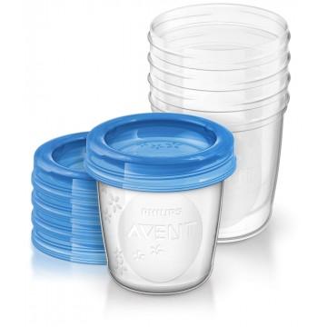 Avent VIA poháriky 180 ml 5 ks