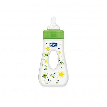 Fľaša bez BPA Well-Being silikónový cumlík rýchly prietok slza 240ml