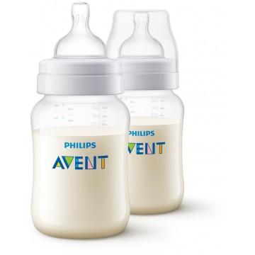 Avent fľaša 260ml Antikolik 2ks
