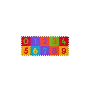 Puzzle penové číslice 10ks, 6m+
