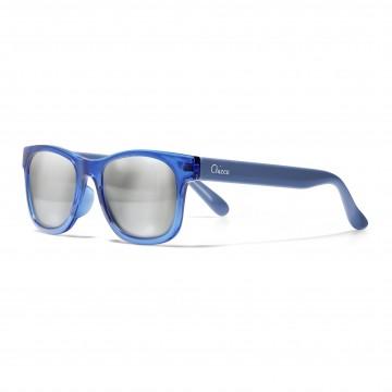 Okuliare slnečné transparentné chlapec  modré 24m+
