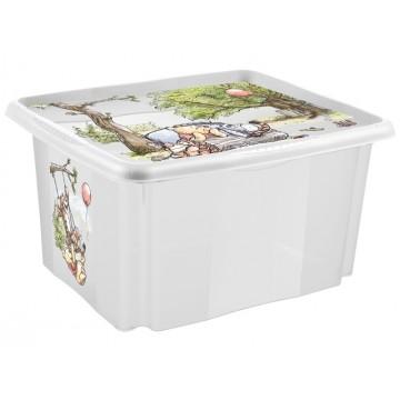 Keeeper Box na hračky Macko Pú a priatelia - 24 l