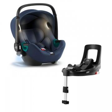 Autosedačka Baby-Safe iSense Bundle Flex iSense, Indigo Blue