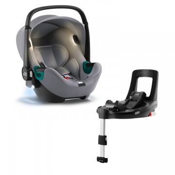 Autosedačka Baby-Safe iSense Bundle Flex iSense, Frost Grey