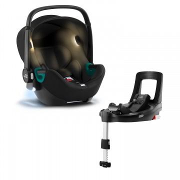 Autosedačka Baby-Safe iSense Bundle Flex iSense, Space Black