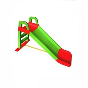 Šmykľavka zeleno-červená 243 cm