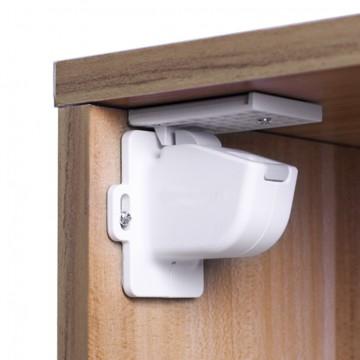 Magnetický uzáver skriniek / zásuviek 4ks, white